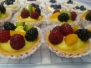 Fruit & Blueberry Cheese Tartlets & Apple Crumble (FT1)