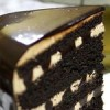 Black & White Russian Cake